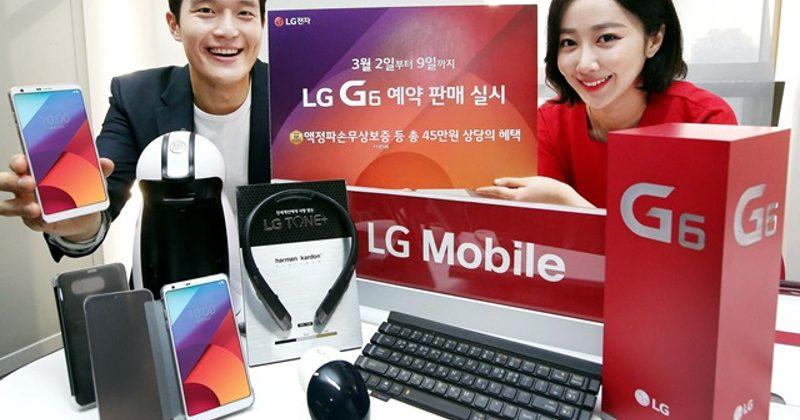 LG G6 pre-orders reach 40,000 in 4 days