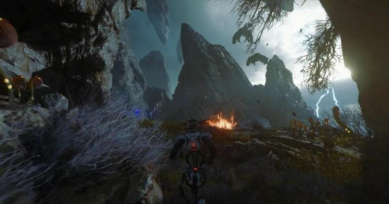 NVIDIA boasts hand in Mass Effect: Andromeda's 4K HDR beauty