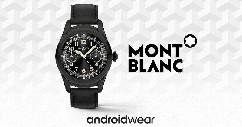 Montblanc Summit is the latest luxury Android Wear smartwatch