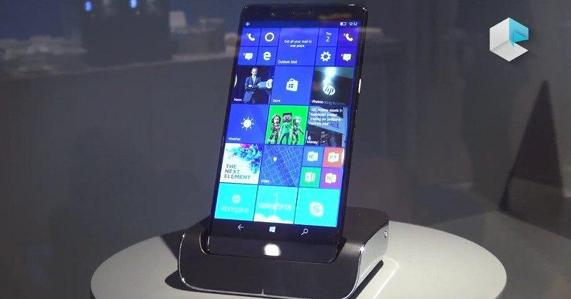 New HP Elite x3, Lap Dock sighted at MWC 2017