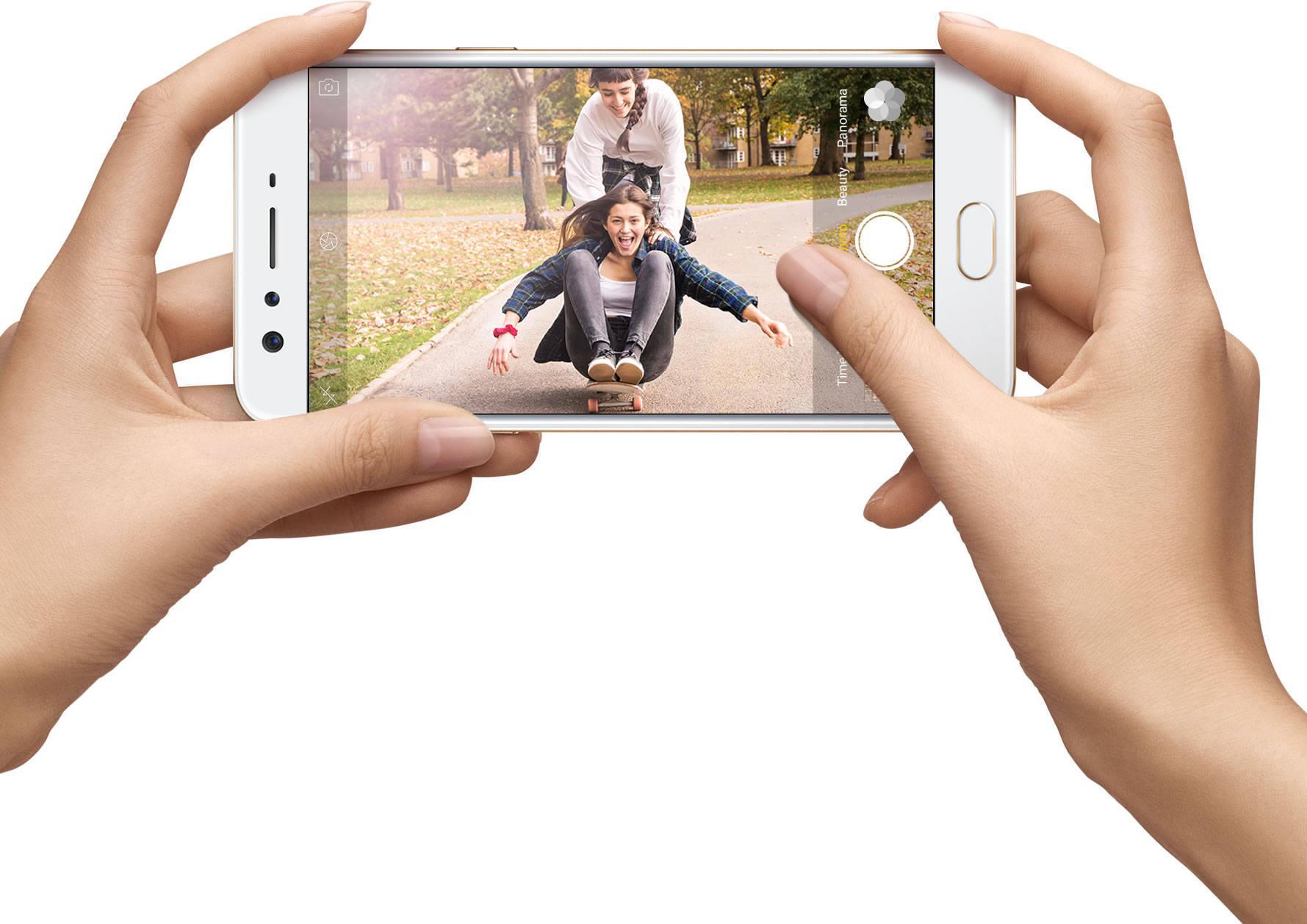 OPPO F3 Plus tries to be twice the selfie expert - SlashGear