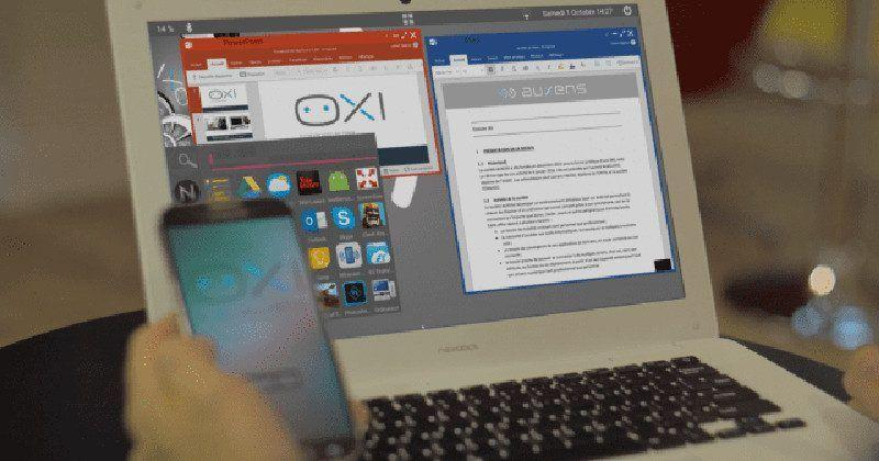 OXI Android ROM tries to make phones double as desktops