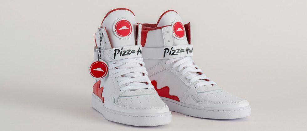 Pizza Hut smart shoes mean ordering pizza is just a button away