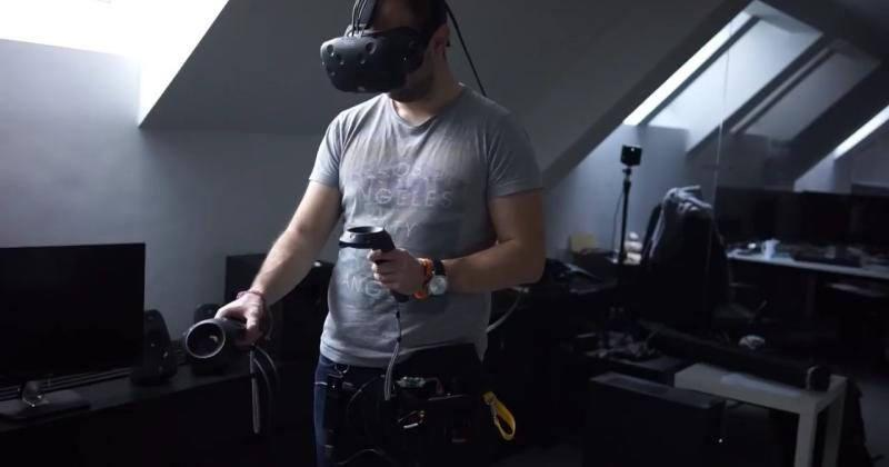 Quark VR teases wireless HTC Vive prototype