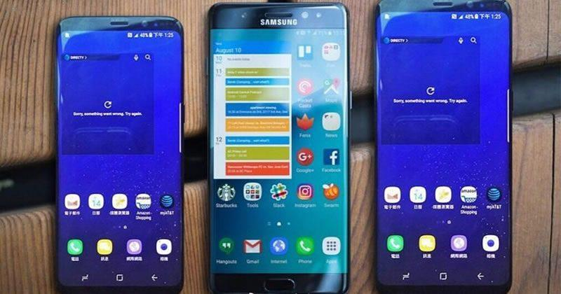 Galaxy S8 hits FCC, renders compare size with others