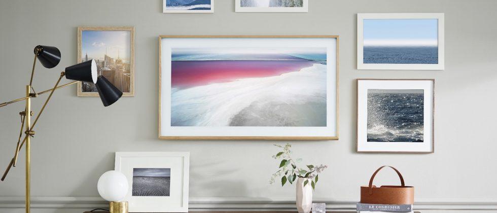 """Samsung's QLED TVs go on sale: The Frame """"art TV"""" lands Spring"""