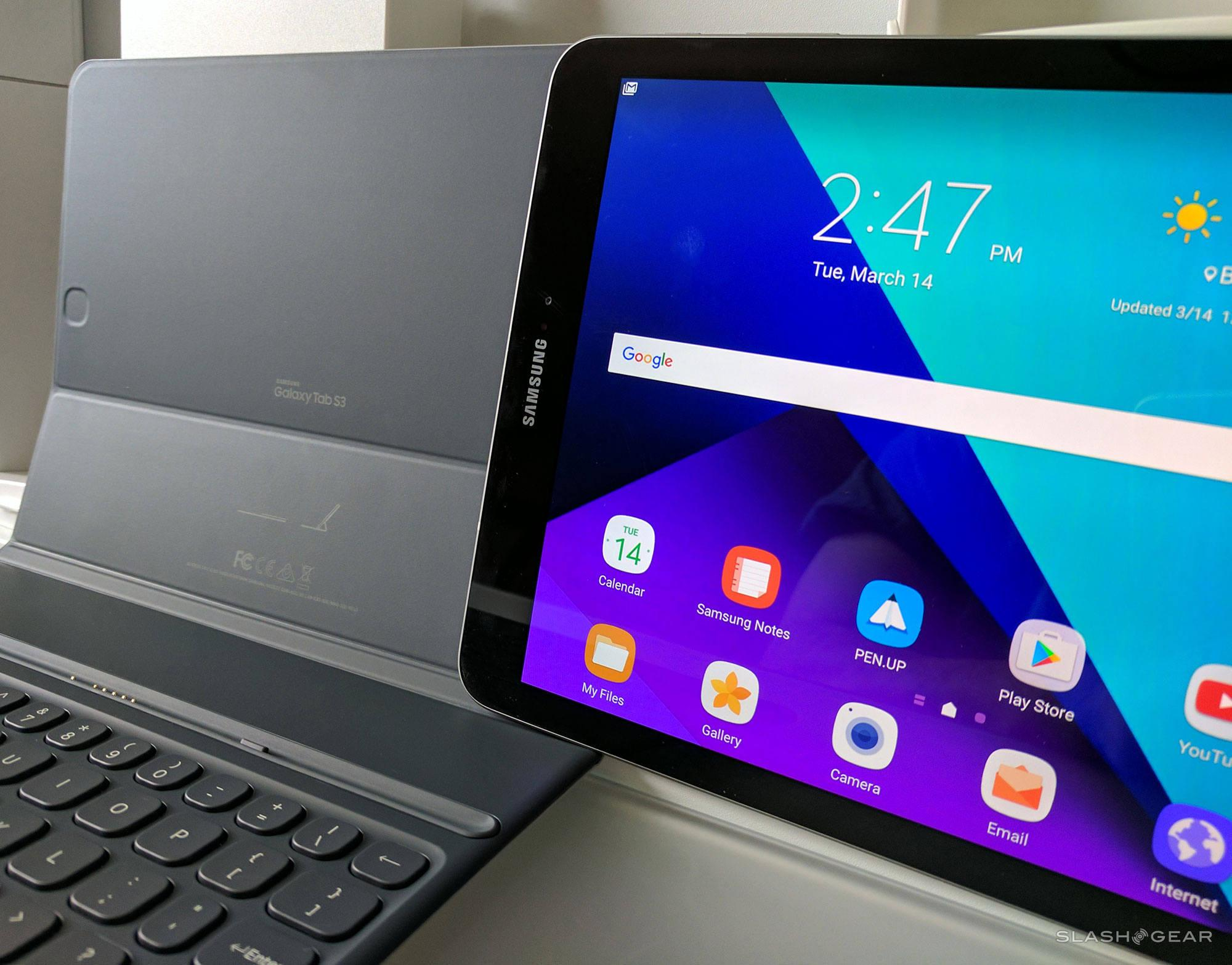 Samsung Galaxy Tab S3 Review - SlashGear