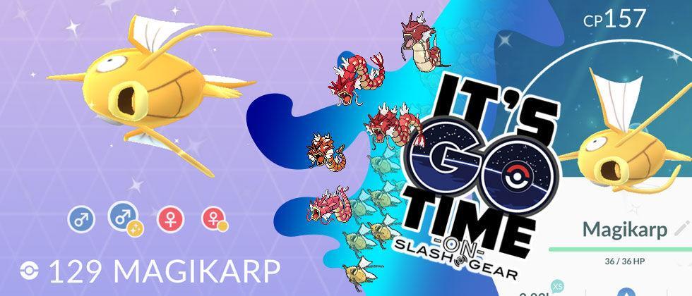 Shiny Pokemon GO Update: How to catch a Gold Magikarp