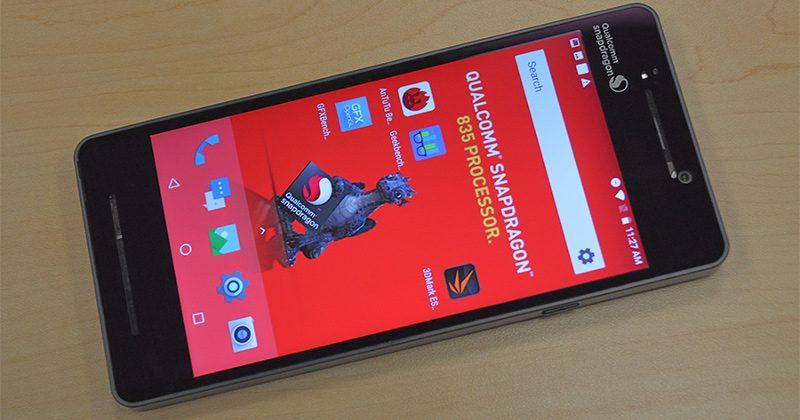 Qualcomm Snapdragon 835 benchmarks produced mixed results
