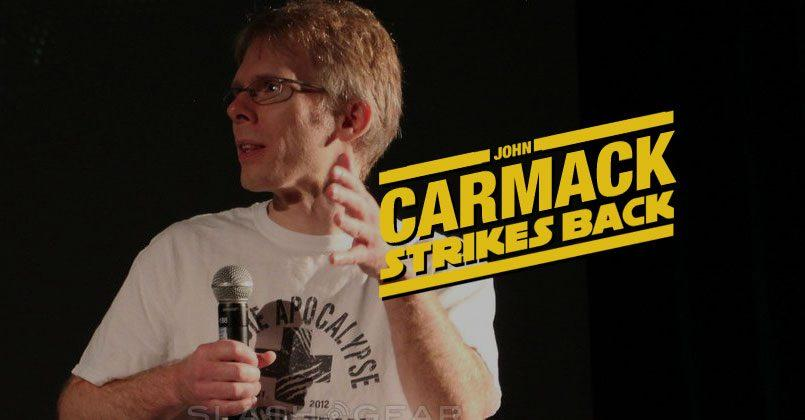 John Carmack strikes back, files lawsuit against ZeniMax