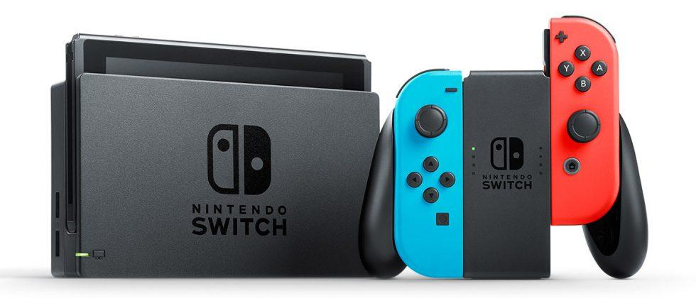 Nintendo Switch has quickest game load times from internal storage