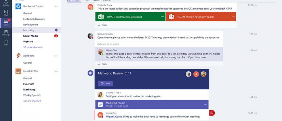 Microsoft Teams rolls out to Office 365 users globally