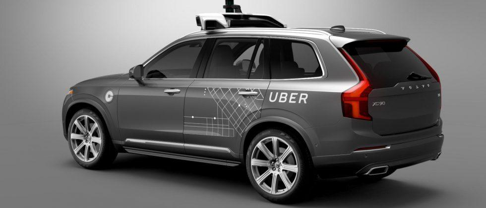 Self-driving Uber crashes in Arizona, ending up on its side