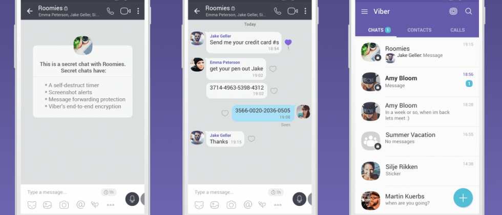 Viber launches secret chats to go beyond encryption