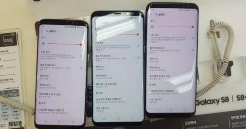 Samsung insists Galaxy S8 red screen just needs a software fix