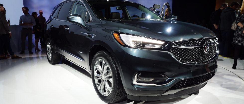 2018 Buick Enclave Avenir launches luxe subbrand with premium SUV