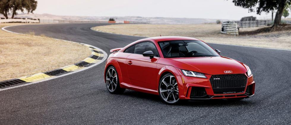 The 400 horsepower 2018 Audi TT RS just got a US price