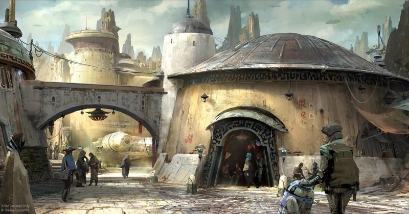 Disney, Lucasfilm tease new setting of Star Wars-themed lands