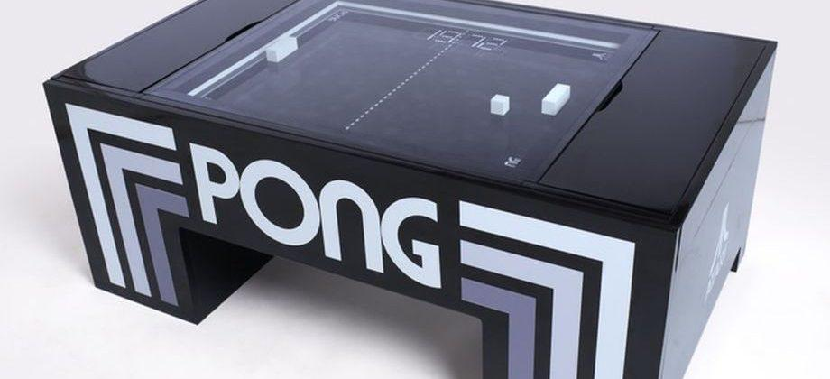 Physical Pong game table about to meet its Kickstarter goal