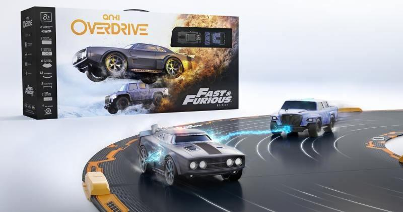 Anki OVERDRIVE gets wild with Fast & Furious Edition