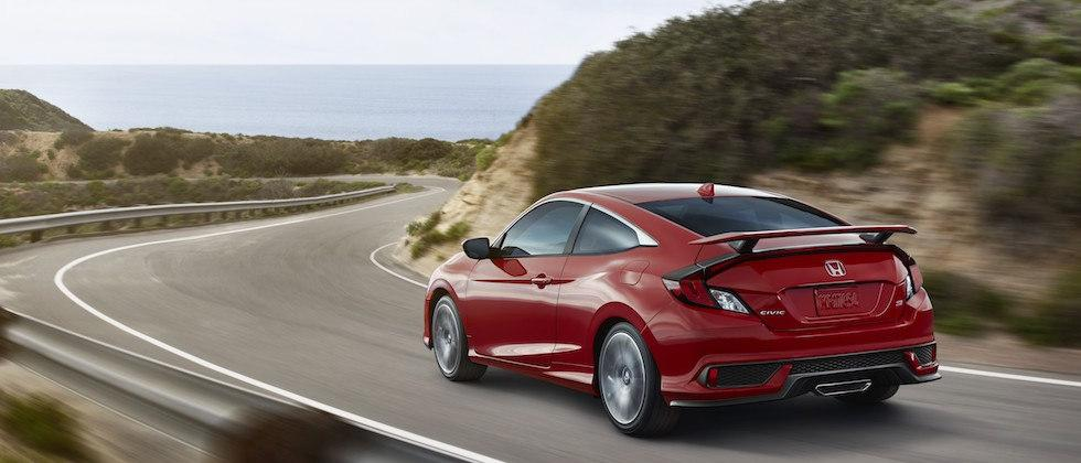 2017 Honda Civic Si Coupe and Si Sedan pack turbocharged 205HP