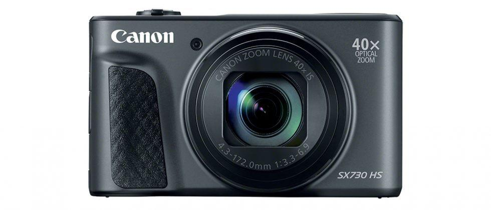 Canon PowerShot SX730 HS 20MP digital camera has 40x optical zoom