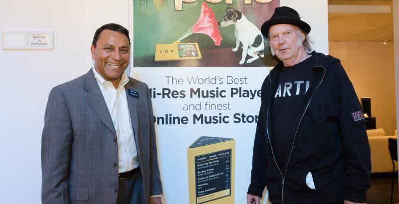 Neil Young's Pono to relaunch as high-quality streaming service called Xstream
