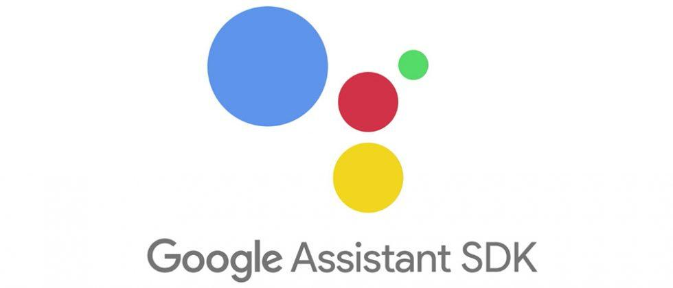 Google Assistant SDK developer preview arrives for gadget makers