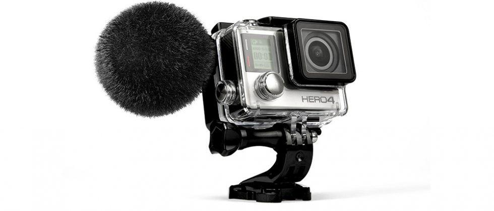 Sennheiser MKE 2 elements is a waterproof microphone for GoPro