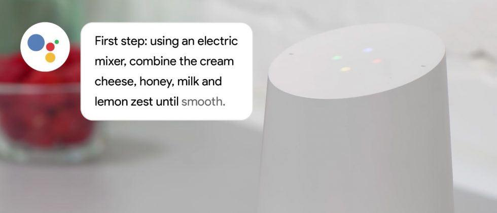 Google Home gets step-by-step cooking instructions for 5 million recipes