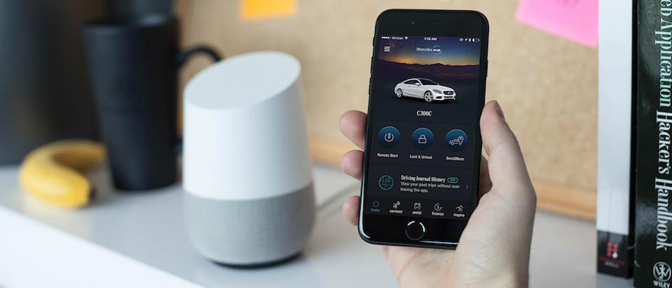 Your Mercedes now takes orders from Alexa and Google Home