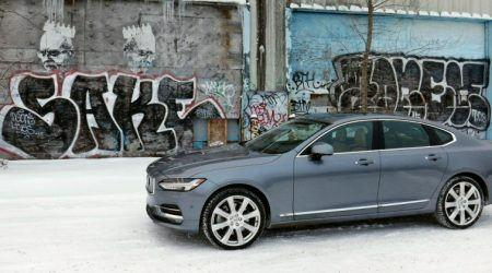 2017 Volvo S90 Winter Gallery