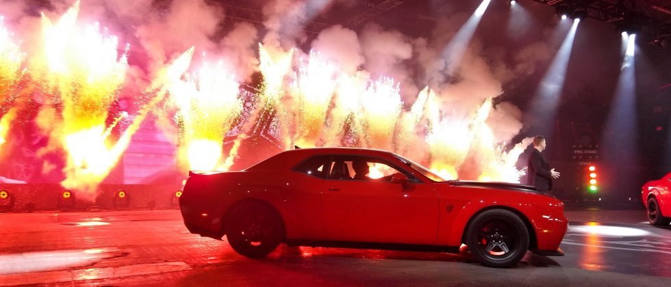 2018 Dodge Challenger SRT Demon is your drag car for the street