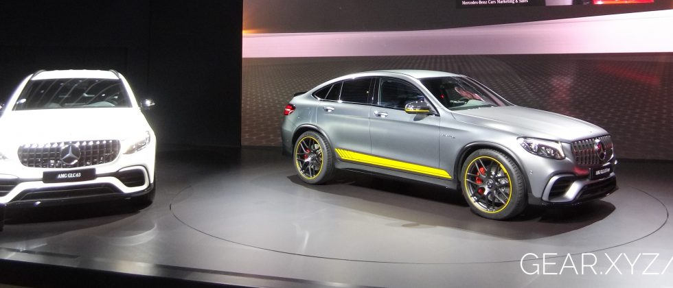 Mercedes-AMG GLC63 and GLC63 S Coupe bring the SUV noise to NYC