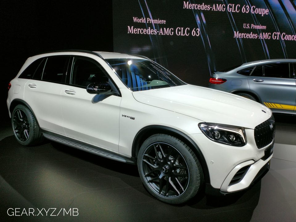 Mercedes-AMG GLC63 and GLC63 S Coupe bring the SUV noise to