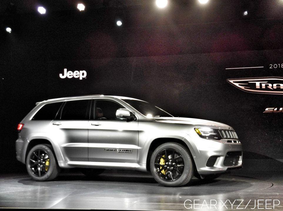 2018 Jeep Grand Cherokee Srt Trackhawk Suv Hits 180 Mph On