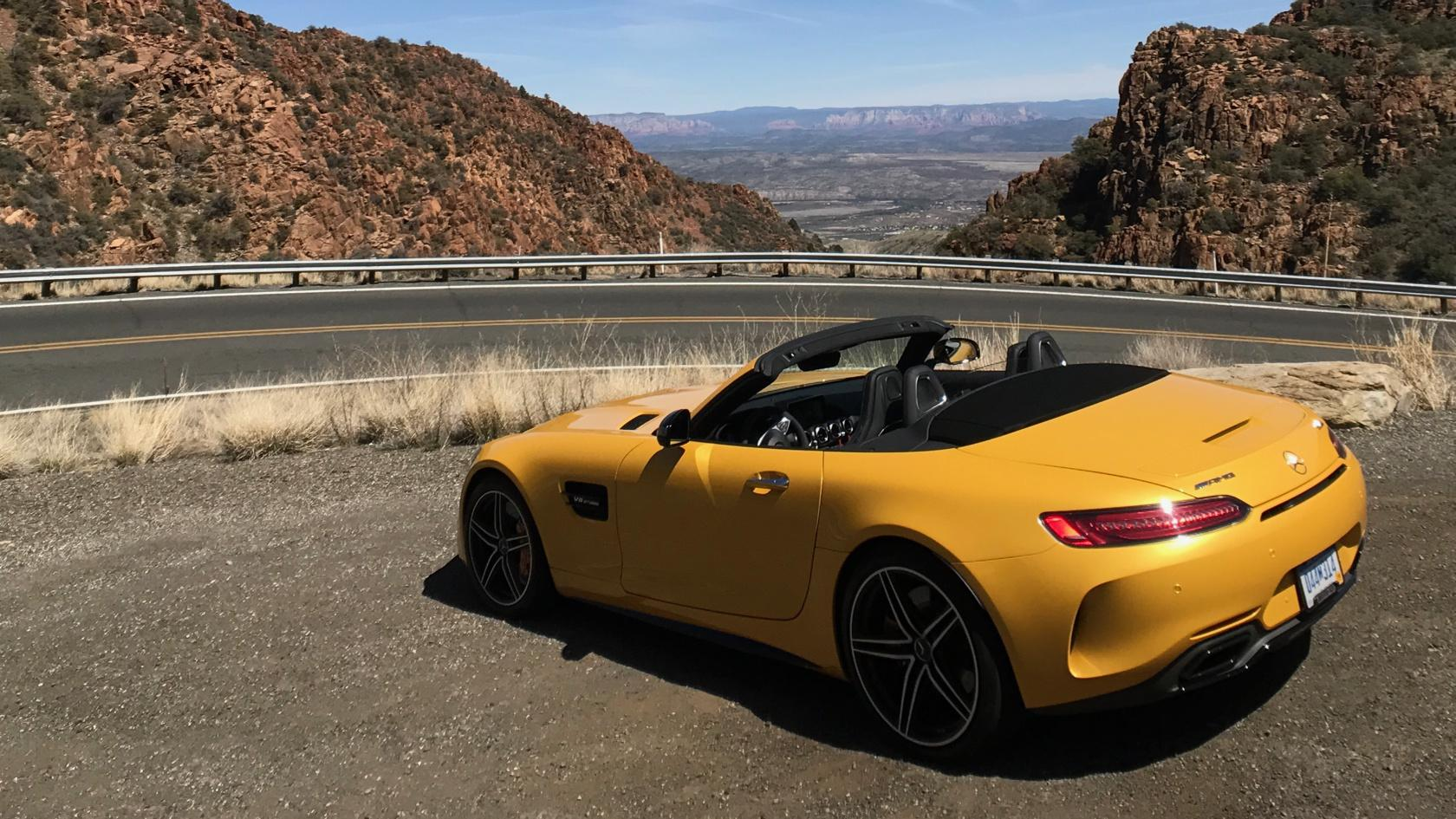 2018 Mercedes-AMG GT C Roadster First Drive: A silver bullet