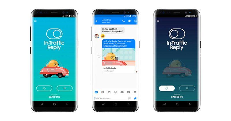 Samsung's new app replies for you when you're driving