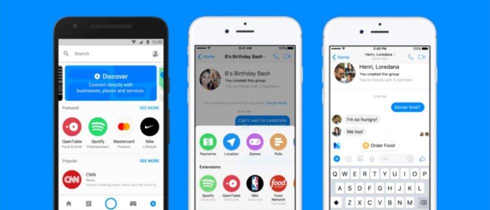 Facebook Messenger is bringing Spotify and Apple Music directly to chats