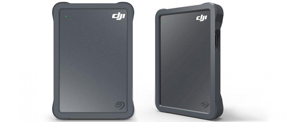 Seagate DJI Fly Drive brings 2TB and a drone-friendly microSD slot