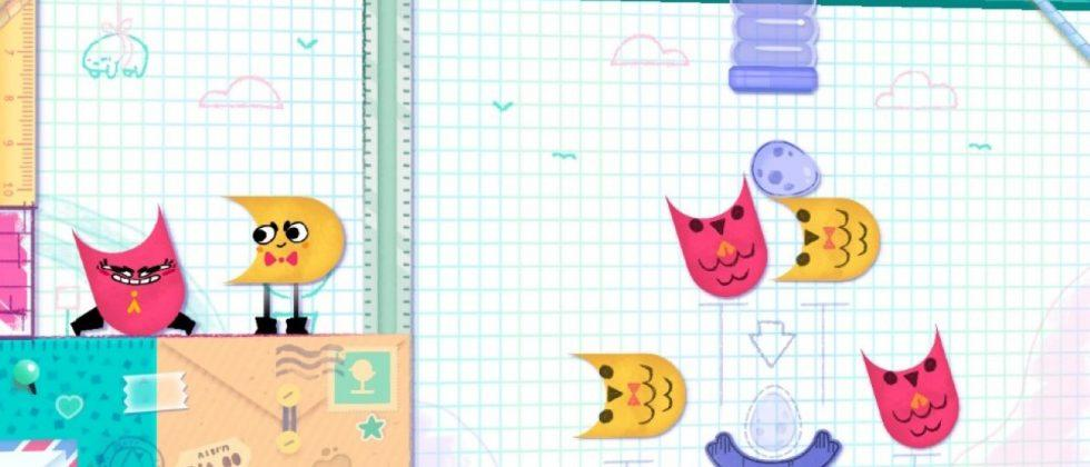 Snipperclips review: A great Nintendo Switch co-op puzzle game