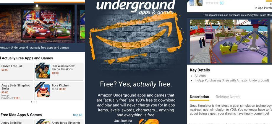 Amazon is killing off its Underground Android app marketplace