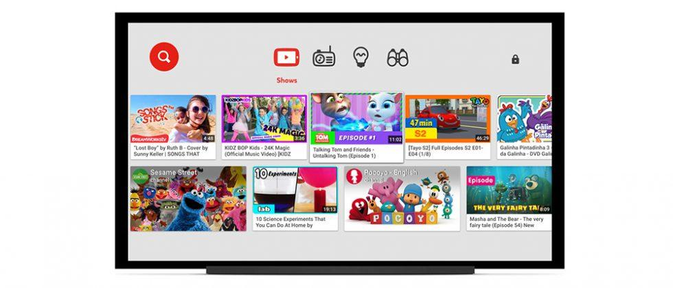 YouTube Kids app arrives on some LG, Sony, and Samsung smart TVs