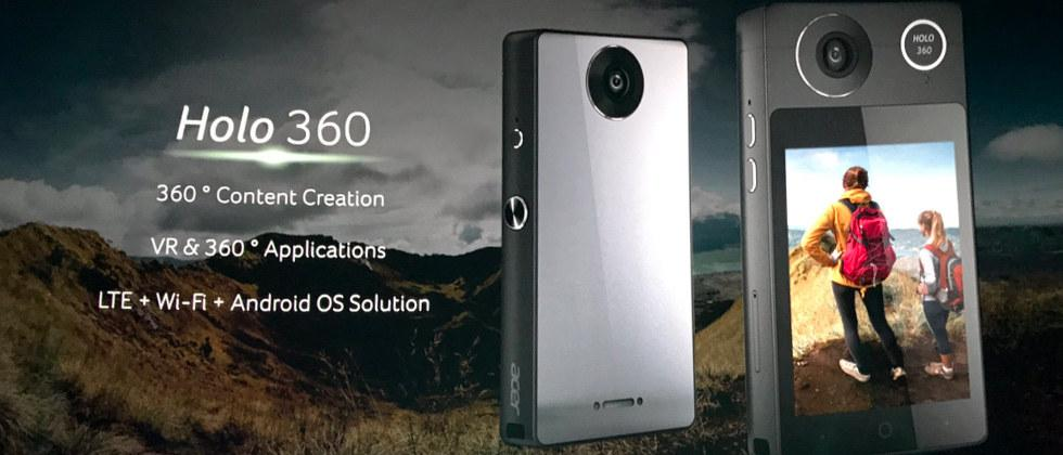 Acer Holo 360 is an Android camera… but also a phone