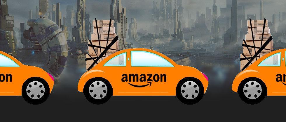 Amazon's autonomous car strategy is not to build one