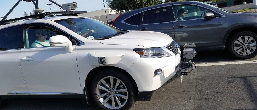 Apple's self-driving Lexus test SUV spotted in Silicon Valley