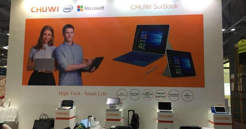 Chuwi SurBook to try and fill in the Microsoft Surface's shoes
