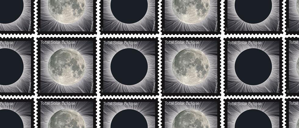 USPS 'Total Solar Eclipse' Forever Stamp arrives in June