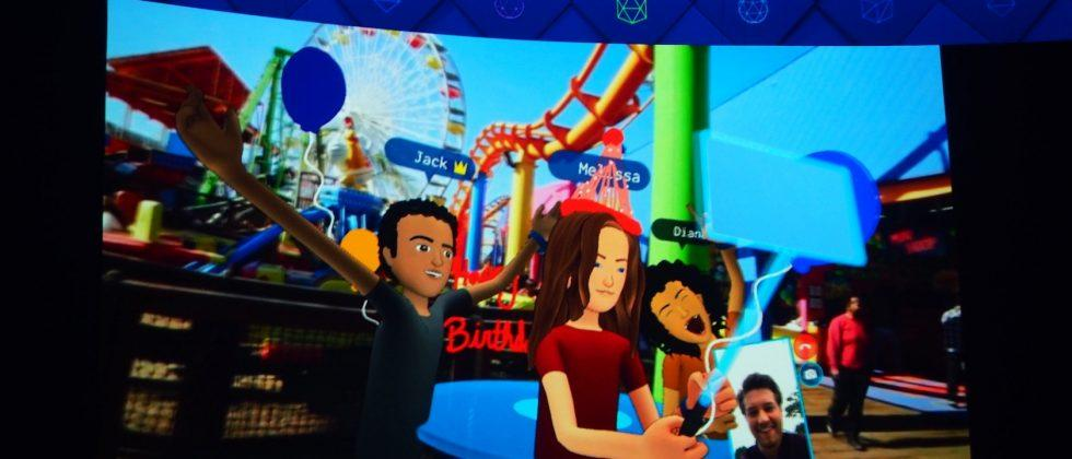 Out on Oculus VR now, Facebook Spaces is a virtual social life