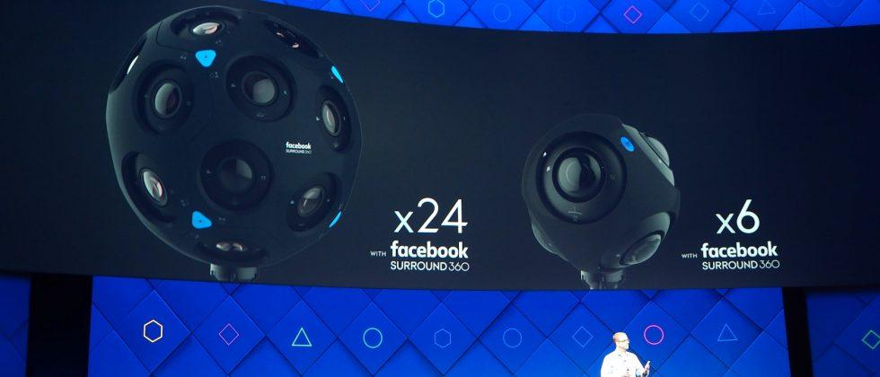 Facebook Surround 360 cameras x6 and x24: traveling without moving